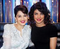 What Madhuri has to say about working with Priyanka Chopra?