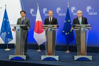 Japan, EU leaders agree to accelerate free trade talks