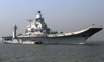 Question mark looms over India's aircraft carrier