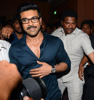 PIX: Ram Charan, Rakul Preet at Chiranjeevi's birthday celebrations