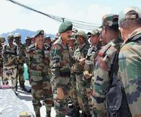 In valley, Army chief for upholding human rights