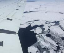 Arctic sea ice extent hits record low for November