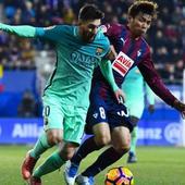 La Liga: Lionel Messi and Luis Suarez douse Eibar for Barcelona