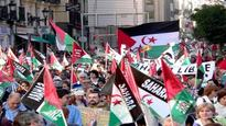 Participants at Brussels semi-marathon express support to Western Sahara people