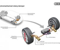 The Shock eROT-ic: Audi Details Electric-Generating Rotary Dampers