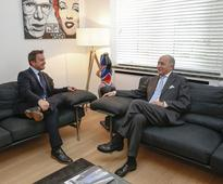 President of French Constitutional Council Received for Meetings in Luxembourg