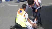 Caught on camera: 'How dare you,' screams passenger as IndiGo staff pins him down, airline fires 'culprit'