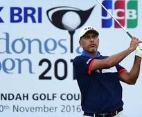 Jeev takes lead at Indonesia Open