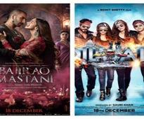 Box office collection: Bajirao Mastani all set to beat Yeh Jawaani Hai Deewani; Dilwale run almost stopped