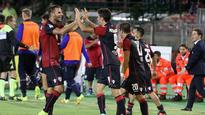 Cagliari beat Sampdoria after keeper howler; Atalanta thrash Crotone