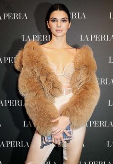 Vote: Like Kendall's nude fashion statement?