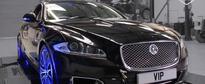 Jaguar XJR Tuned to 650 HP Screams Like a War God Trapped Inside a Luxury Sedan