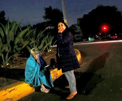 Mexico's 8.2 earthquake, strongest in a century, kills 32