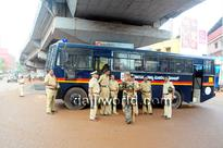 Bantwal returns to normalcy, ADGP Alok Mohan visits, tight security in place