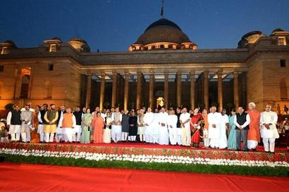 Modi's new ministers to be sworn-in on July 4?