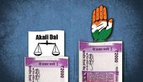 Congress & SAD candidates have great personal wealth. AAP's have next to nothing