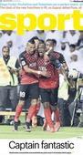 Friday's cover: Al Ahli's captain fantastic