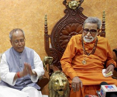 My meeting with Bal Thackeray upset Sonia Gandhi: Pranab Mukherjee