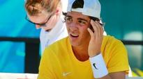 Injury forces Thanasi Kokkinakis out of the US Open, possibly Davis Cup