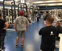 Wounded Warrior Project Trains with John Hopkins University