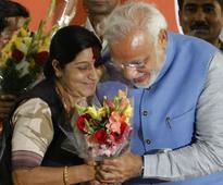 Sushma Swaraj named in FP's Global Thinkers 2016 list, PM Modi says 'very proud'