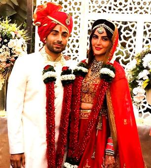 Mandana Karimi's wedding pictures