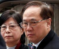 Former Hong Kong leader remanded in custody ahead of sentencing