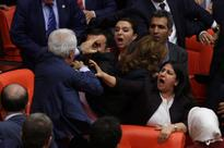 Punch-Up Debates: Turkish Parliamentarians End Up in a Massive Brawl