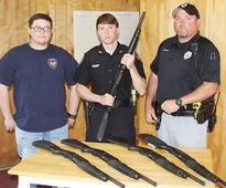 Bruce Police gets new shotguns