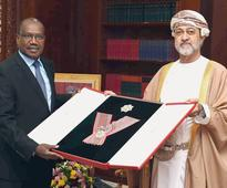 HM confers Sultan Qaboos order on ex-ITU official