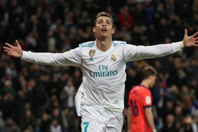 Football Briefs: Ronaldo hits hat-trick; Bayern extend dominance