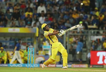 IPL PIX: Bravo stars in CSK's thrilling one-wicket win over MI in opener