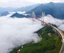China Once Again Takes The Title Of Hosting World's Highest Bridge