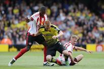 HT: Watford 0 - 1 Sunderland