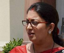 Smriti Irani should focus more on her ministry: Congress