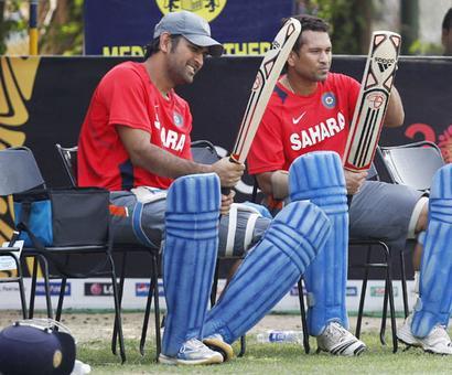 MS Dhoni all set to break Sachin Tendulkar's record