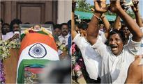 Jayalalithaa buried next to MGR: Tamil Nadu bids tearful farewell to Amma