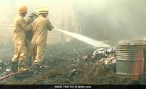 Fire Breaks Out In Delhi's Mongolpuri Oil Market