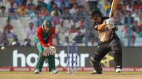 Ross Taylor laughs at interview slip-up: 'we're looking forward to the final'