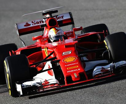 Ferrari's Italian stallion has a spring in its step