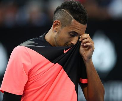 Will Rod Laver slot freeze Kyrgios?