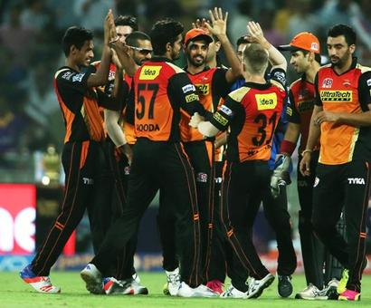 IPL PHOTOS: Sunrisers knock Knight Riders out, seal Qualifier 2 berth