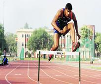 Siddhant breaks own record at Inter State athletics