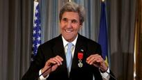 John Kerry awarded France's highest honour 'Legion d'Honneur'