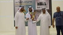 UAE's Saleh clinches rapid title in style
