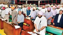 Punjab Budget session: Drama ensues as SAD MLAs stage walkout