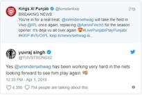 Sehwag to open for KXIP against Delhi Daredevils in IPL opener