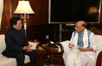 CM discussed 3 core issues of people with Rajnath Singh