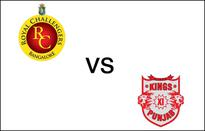 Bangalore vs Punjab LIVE: Zaheer Khan draws first blood for RCB