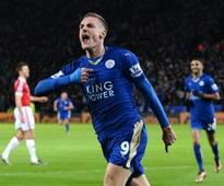 Prize before the party! Leicester's Vardy wins FWA's footballer of the year award